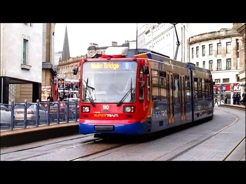 Trains Buses & Supertram - Sheffield November 2014