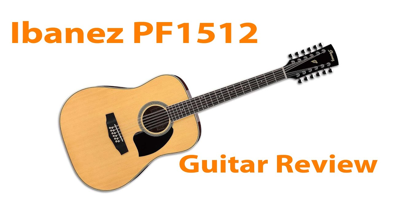 ibanez pf1512 12 string guitar review stefan s bass blog youtube