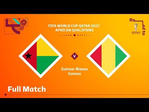 Guinea-Bissau v Guinea | FIFA World Cup Qatar 2022 Qualifier | Full Match
