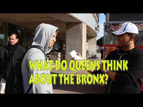 WHAT DO PEOPLE THINK ABOUT THE BRONX?