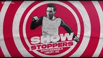 Santi Cazorla v Man City   Showstoppers compilation   Episode 6