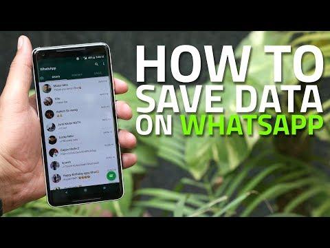 How to Make WhatsApp Use Less Internet Data