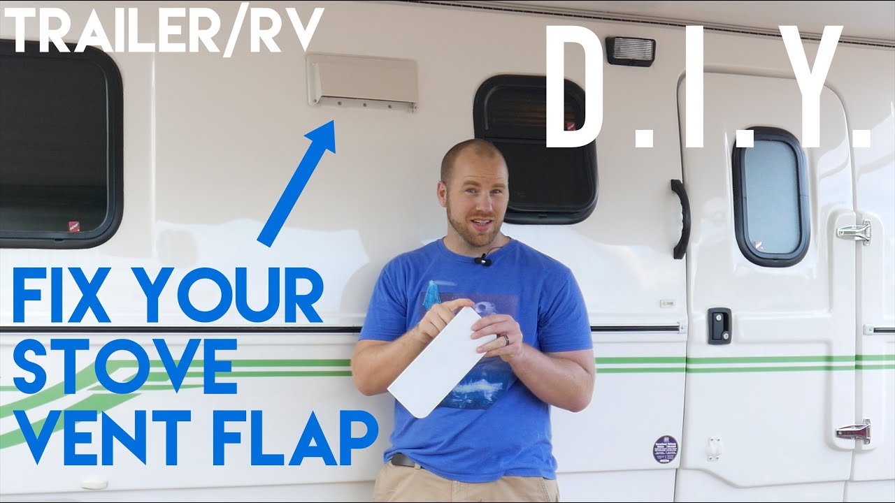 Fix RV / Trailer Vent Flap - 2015 Escape 19