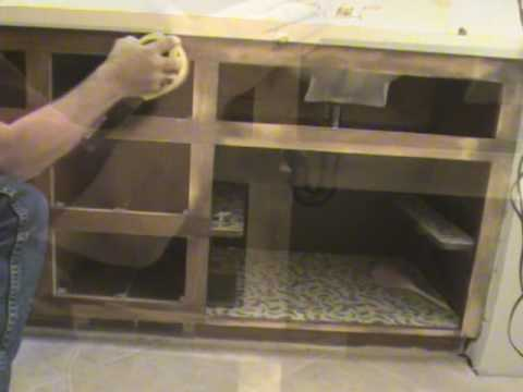 Cabinet Refacing By Design Werks Cabinetry Inc YouTube - Reface bathroom vanity
