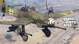 ВТОРАЯ МИРОВАЯ ВОЙНА АВИАЦИЯ И ТЕХНИКА - WORLD WAR 2 MOD (GTA 5 Mods)
