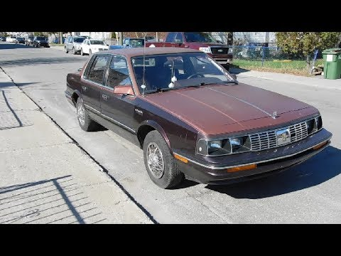 '86 OLDSMOBILE CUTLASS CIERA SPOTTED IN MONTREAL  - 4-28-19
