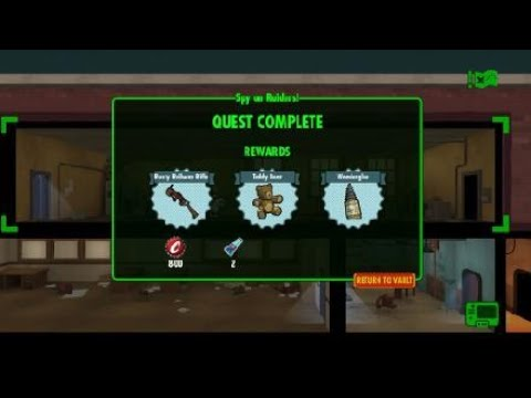 Fallout Shelter - Spy On Raiders! Pt 13