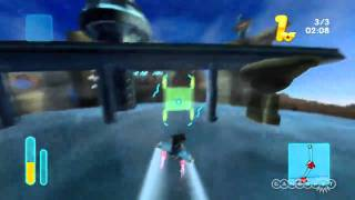 MySims SkyHeroes (Xbox 360) - Tight Tunnel Race Gameplay