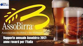 Rapporto annuale Assobirra 2017: anno record per l'Italia