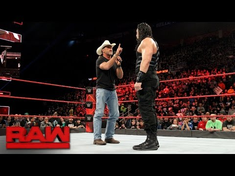 Thumbnail: Shawn Michaels warns Roman Reigns about facing The Undertaker at WrestleMania: Raw, March 13, 2017