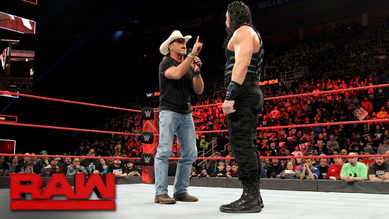 Download Shawn Michaels warns Roman Reigns about facing The Undertaker at WrestleMania: Raw, March 13, 2017