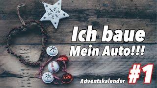 Ich baue mein eigenes Auto!!! | Ferngesteuerte Autos Adventskalender | Weihnachten 2019