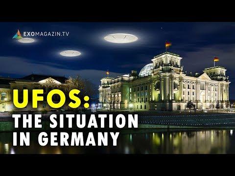 UFOs: The Situation in Germany - Journalist Robert Fleischer in Holmfirth (UK) 2018