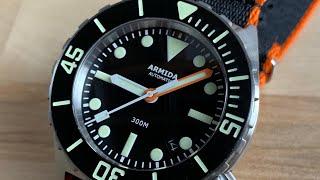 Armida A1 42mm (300m diver) YouTube Videos