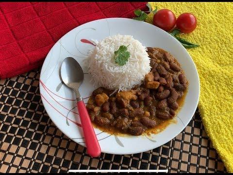 Rajma Chicken   Red Kidney Beans Chicken Curry