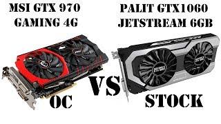 """GTX970 (OC) vs GTX1060 6GB (Stock). Не всё так просто, разбираем что к чему. GTX970 - """"мАгЁт""""!"""