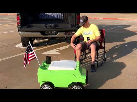 Remote Controlled Cooler