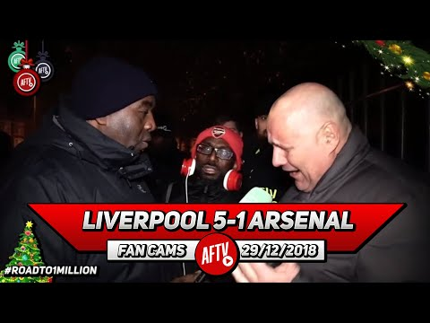 Liverpool 5-1 Arsenal   We Are A Shambles At The Back!! (Claude & Ty - Rant)