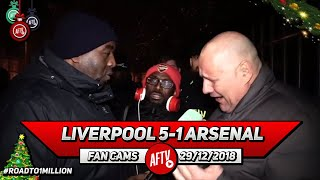 Liverpool 5-1 Arsenal | We Are A Shambles At The Back!! (Claude & Ty - Rant)