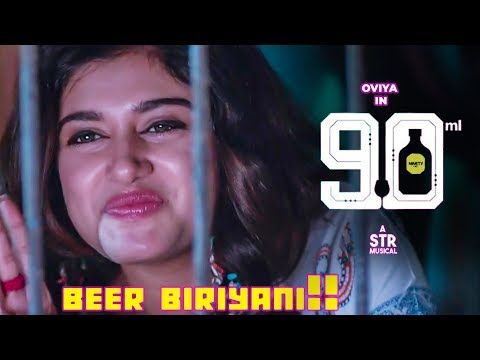Beer Biryani Lyric Video Song Reaction | STR | Oviya | 90 ML | Mirchi Vijay