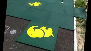видео Мягкий пол для детских комнат: модульная плитка-пазл по технологии EVA