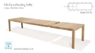 Infinity Extending Dining Table By Berrydesign