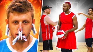 SIDEMEN PUNISHMENT BASKETBALL