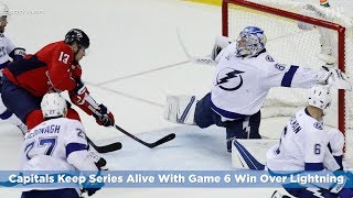 Capitals Keep Series Alive With Game 6 Win Over Lightning