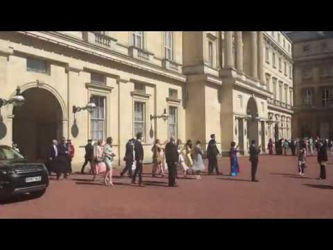 Inside Buckingham Palace (Garden Party)