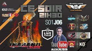 CLASH OF CLANS - 🔴 LIVE INFERNO LEAGUE s01e06 - Hardcore Gaming par la FFF
