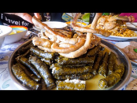 Eating The BEST FOOD In Lebanon - Massive Family Lunch!