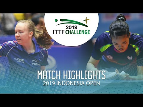 Isa Cok Vs Chen Yi Chien   2019 ITTF Indonesia Open Highlights (Group)