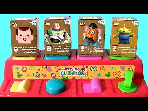 Disney Baby Mickey Mouse Clubhouse Pop Up Pals Surprise Toy Story 4 Eggs
