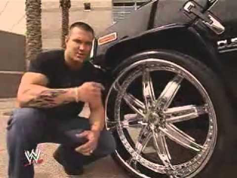WWE:RANDY ORTON;S CAR - YouTube