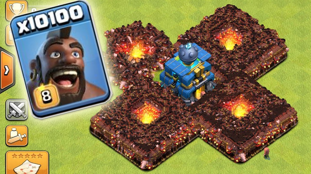 10100 HOG ATTACK iN CLASH OF CLANS | HOLY COC ATTACK OMG ...