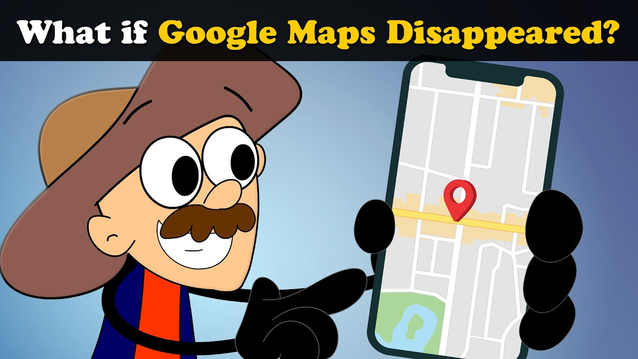 What if Google Maps Disappeared? + more videos | #aumsum #kids #science #education #whatif