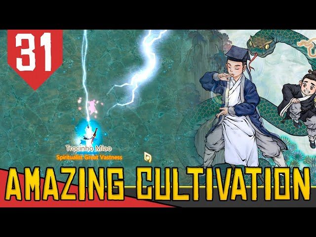 4 ARVORES SAGRADAS e TRIBULANDO - Amazing Cultivation Simulator Immortal #31 [Série Gameplay PT-BR]