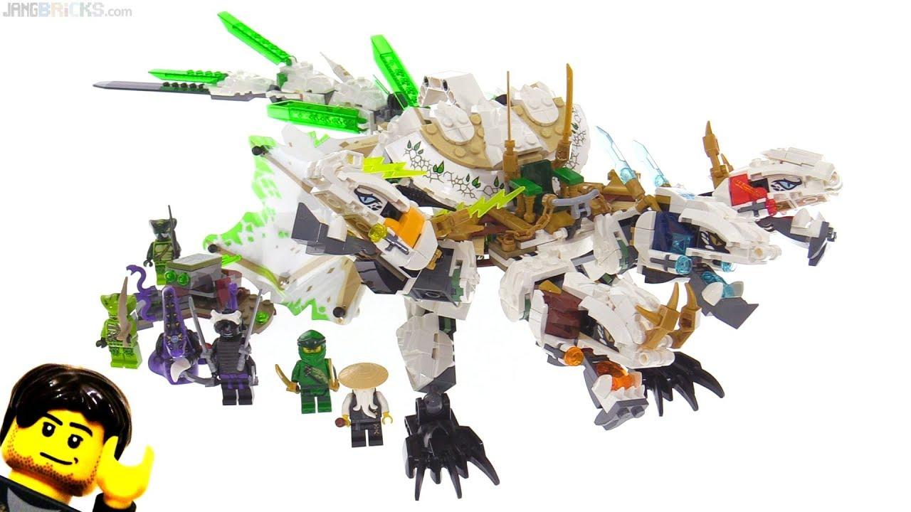 Lego Ninjago Legacy Ultra Dragon Review 70679 Youtube