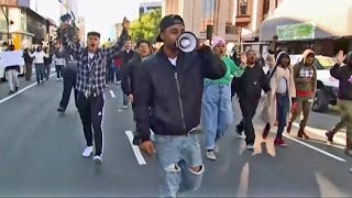Marches, Vigils Mark Second Full Day of Protests in Sacramento