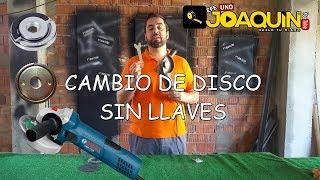 TUERCAS DE FIJACIÓN RÁPIDA PARA RADIAL (Cambia el disco sin llaves)