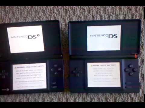 Nintendo 3DS XL vs DSi vs DS lite screen size comparison - YouTube
