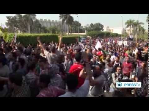 Egyptian Anti-Coup Protests Against the Military