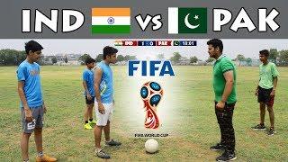If India vs Pakistan in FIFA World cup   Mauka Mauka #KnockThemOut    Funny video 2018