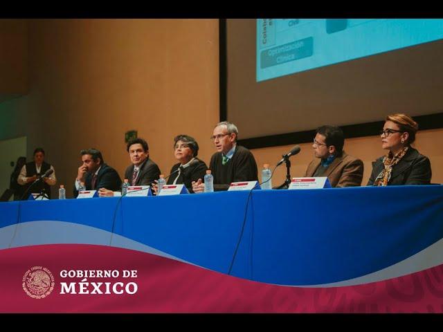 Presentación de la consolidación de compra de medicamentos y material de curación para 2020.