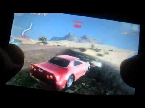 Huawei u8800/ ideos x5 Fast & Furious Five HD Gameplay