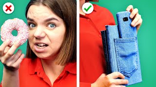 COOL & FUN SCHOOL HACKS ! 11 Back To School Ideas and DIY School Supplies By Crafty Panda