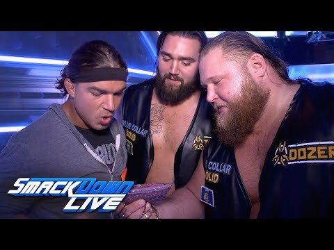 WWE SmackDown: Heavy Machinery would be perfect first challengers for Team Vegan