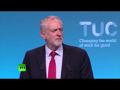 """Jeremy Corbyn: """"Workers' rights are human rights."""""""