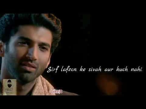 Aashiqui 2 Dialogue |WhatsApp Status ✌ 😊