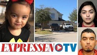 Alicia, 2, glömdes i bilen av fulla föräldrar – hittades död